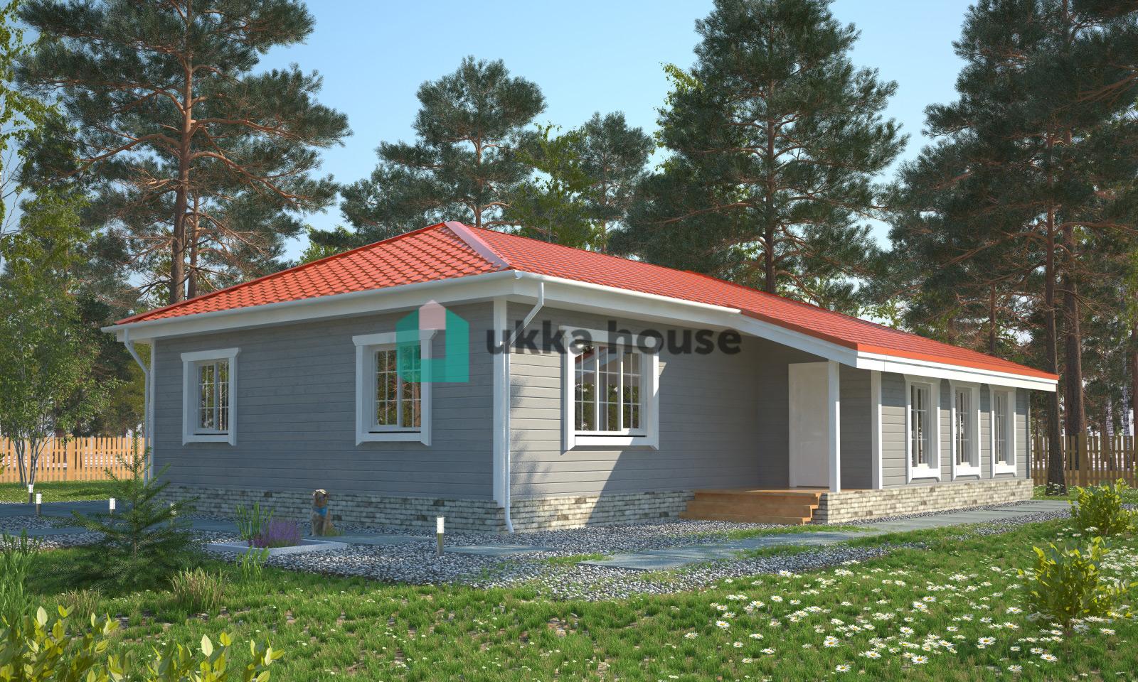 Проект «Оазис, вид крыши - шатровая»