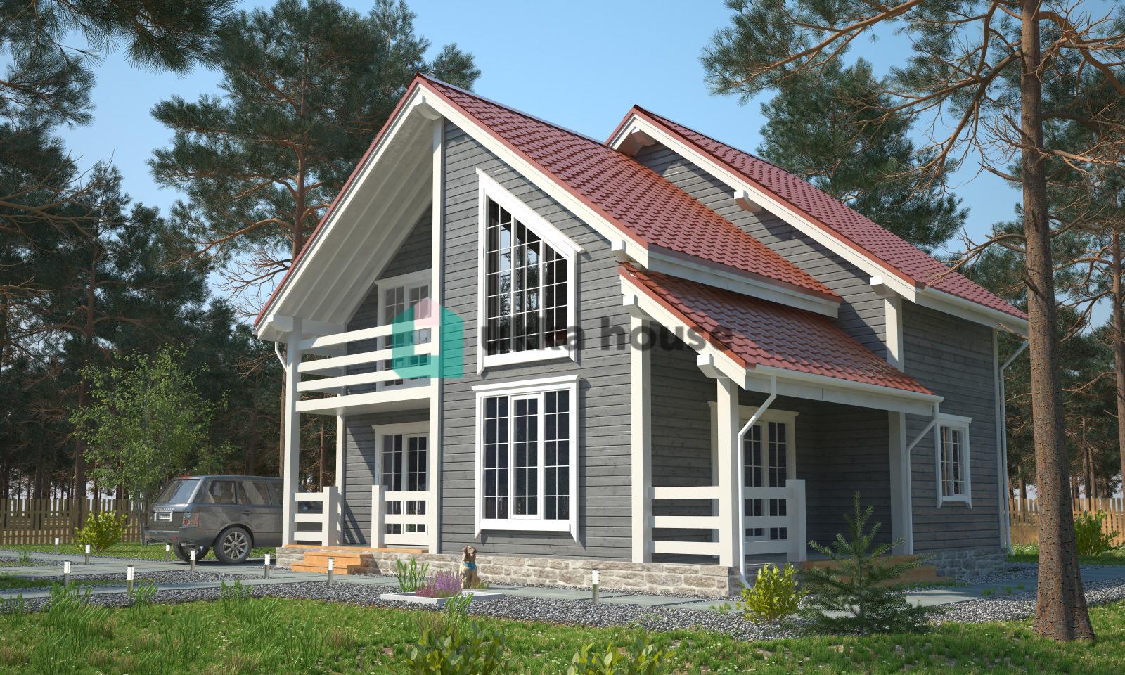 Проект «Строительство домов в СПБ и Лен. области, проект загородного дома