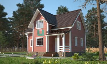 каркасно-щитовые дома в Спб, Сокол