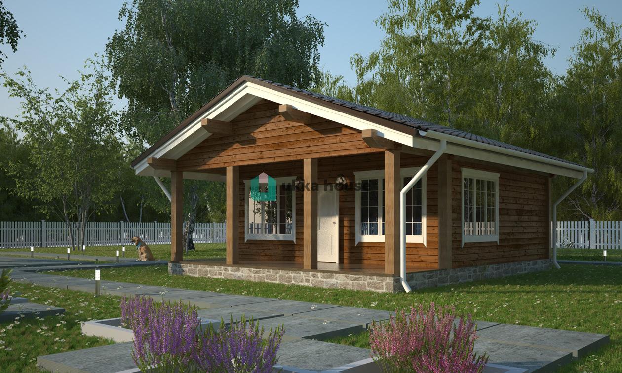 Проект «Каркасный дом недорог - скидка на проект