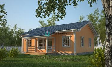 """Строительство домов СПб, проект """"Эссен"""", классический стиль"""