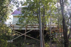 Дачный дом 7х9 с мансардой, массив ОРЕХОВО, СНТ Ломо, Всеволожский р-н. проект Кольберт.
