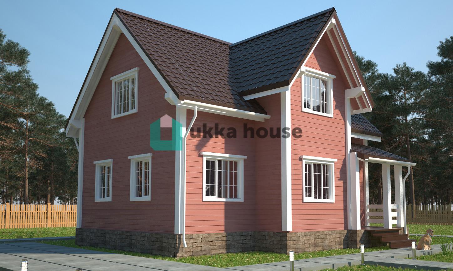 Проект «Каркасный дом