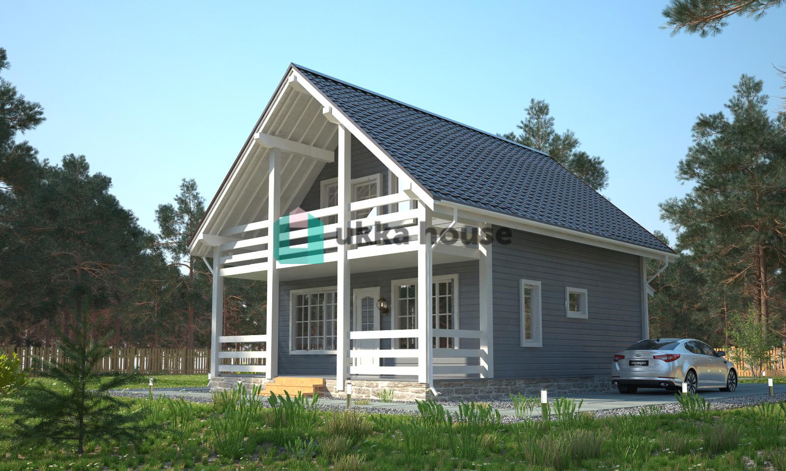 Проект «Финская технология строительства, каркасный дом по проекту