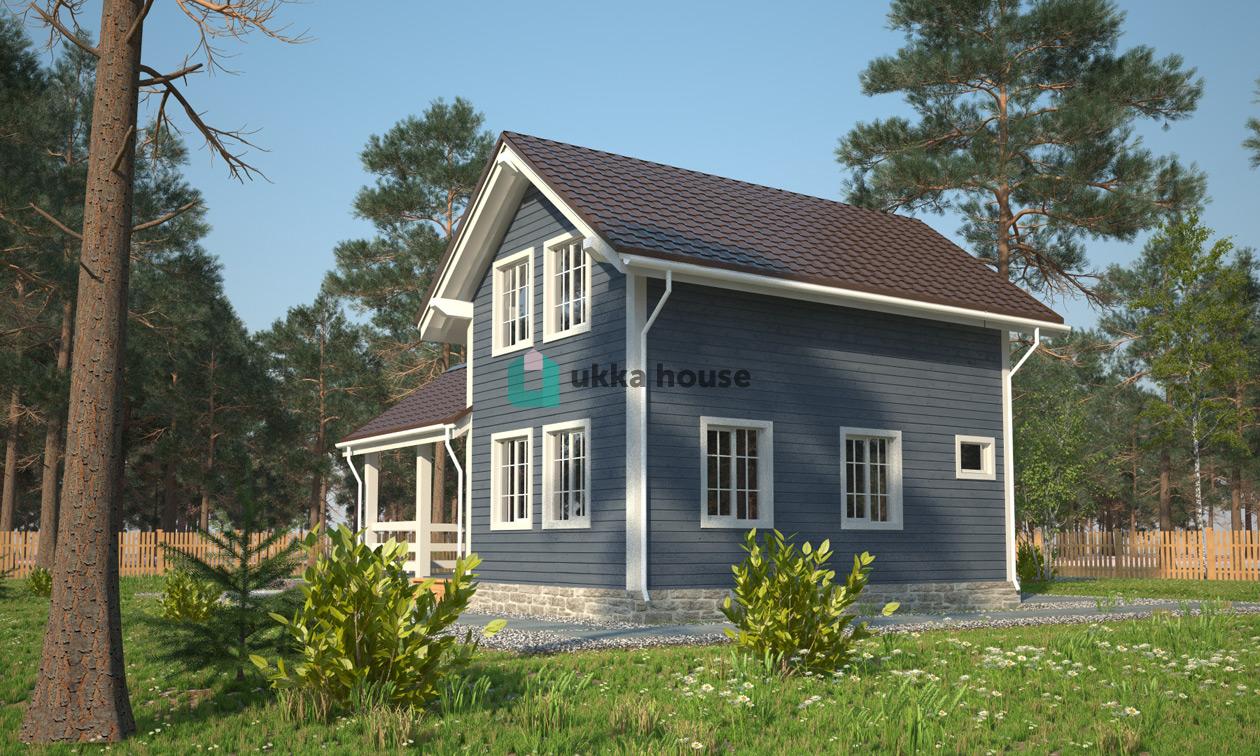 Проект «каркасный дачный дом - Орловъ»