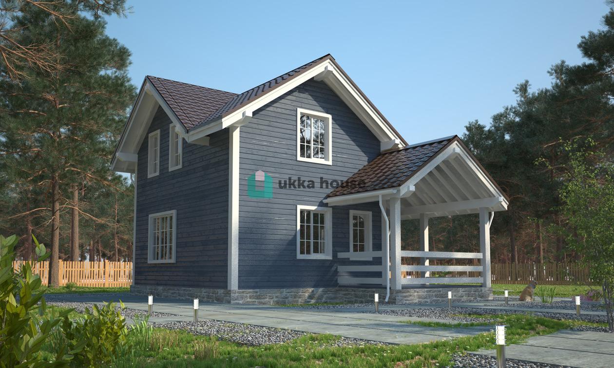 Проект «Финская технология строительства - проект каркасного дома Орловъ»