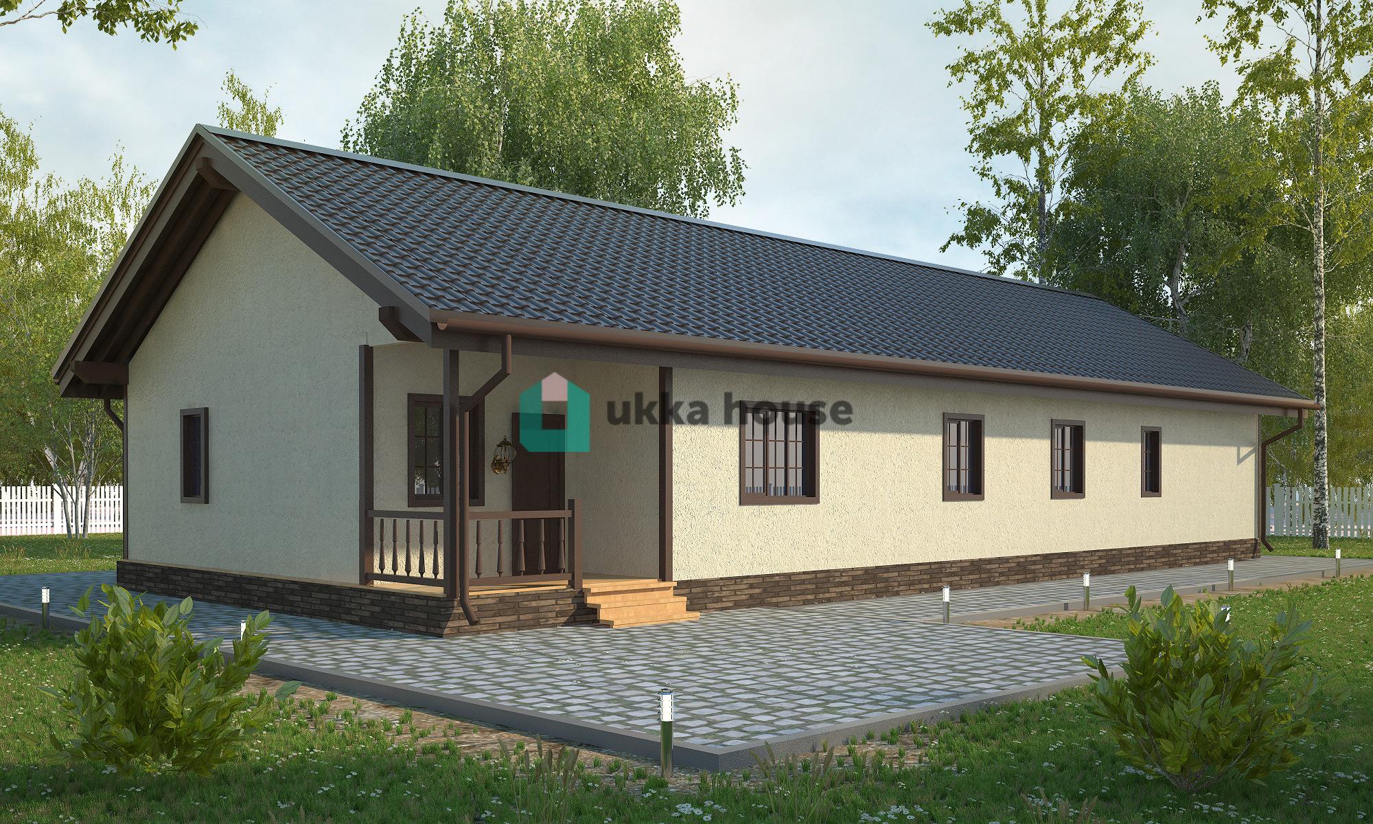 Проект «дом с гаражом итеррасой»