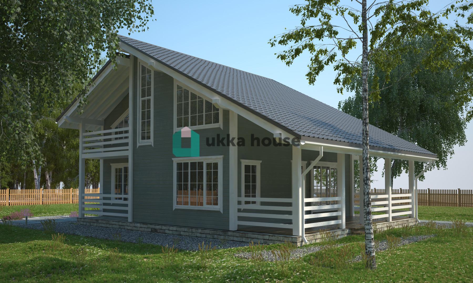 Проект «Каркасный дом рассрочка - проект Олсуфьевъ»