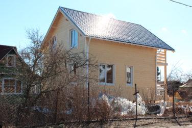 Двухэтажный каркасный дом 9х8, 134 кв.м, проект