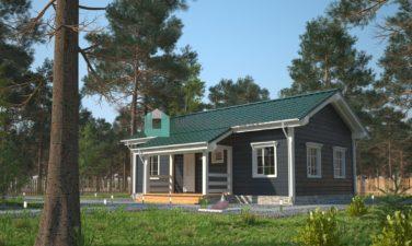 """Дом в классическом стиле, проект """"Калиопсо"""""""