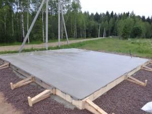 Фундаменты: монолитная ж/б плита, ленточный фундамент, свайно-винтовой фундамент