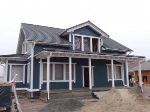Двухэтажный дом у Ладожского озера, Всеволожский район Ленинградской области
