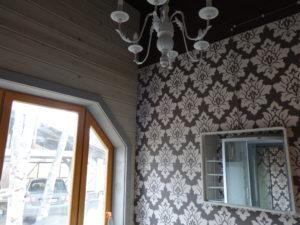 Каркасный дом с навесом под 2 автомобиля, в пос. Солнечное, Курортный р-н