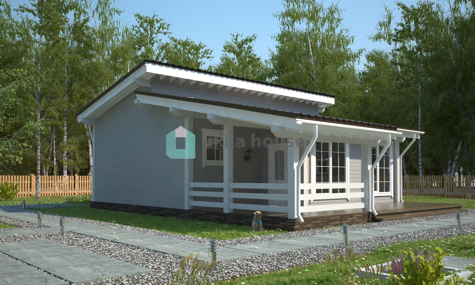 Проект «каркасные бани - дом с сауной»
