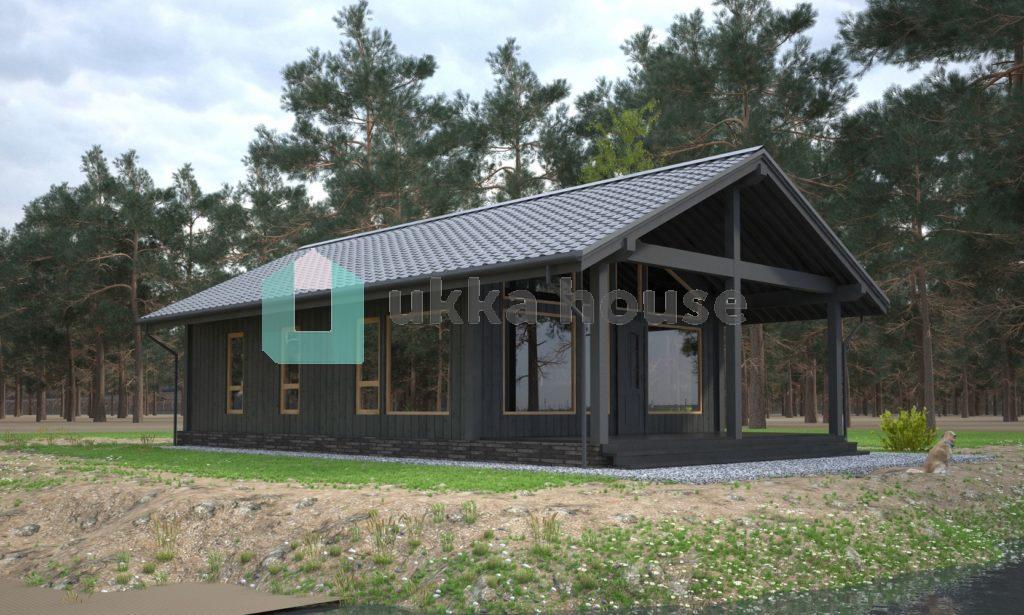 Проект 'рихард'. Дом в финском стиле
