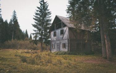 Старый дом в лесу