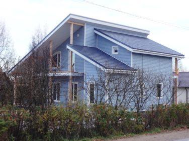 Двухэтажный дом по проекту «Олсуфьевъ», пос. Дубки