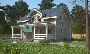 """Строительство домов в Спб и Лен. области, проект загородного дома """"Элиос"""""""