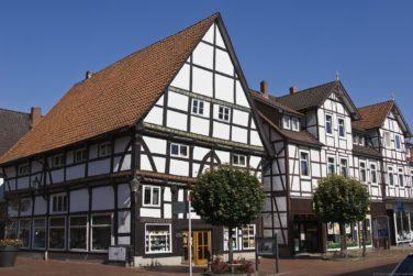 Фахверковый дом - немецкий каркасный дом
