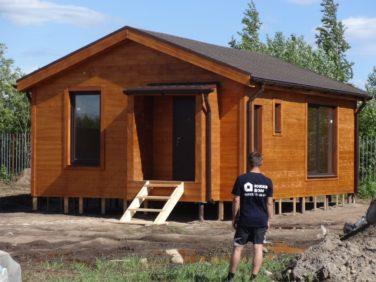 Гостевой дом-баня по индивидуальному проекту. Хапо-Ое, КП