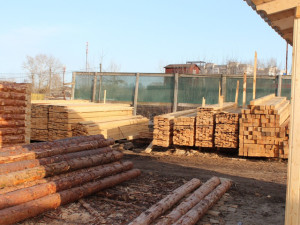 Производство строительных материалов - готовые пиломатериалы