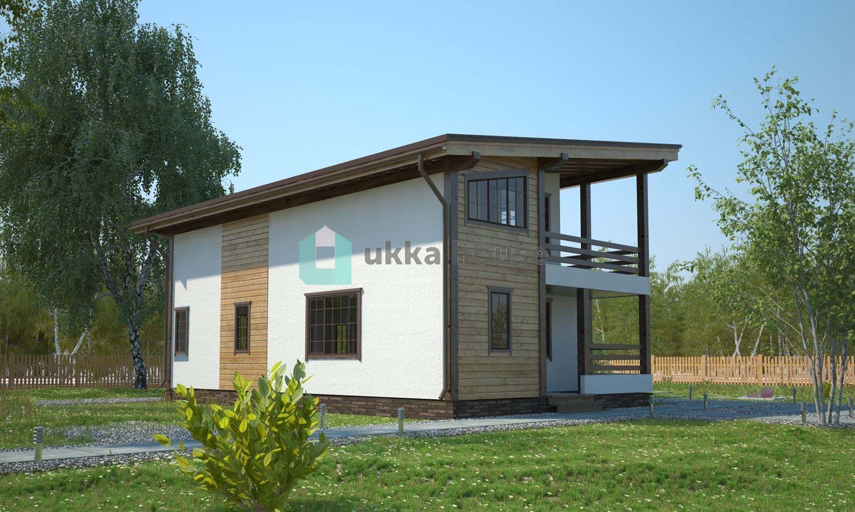 Проект «Виды крыш - односкатная, проект Итака»