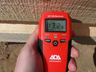 Cухая доска - измерение влажности