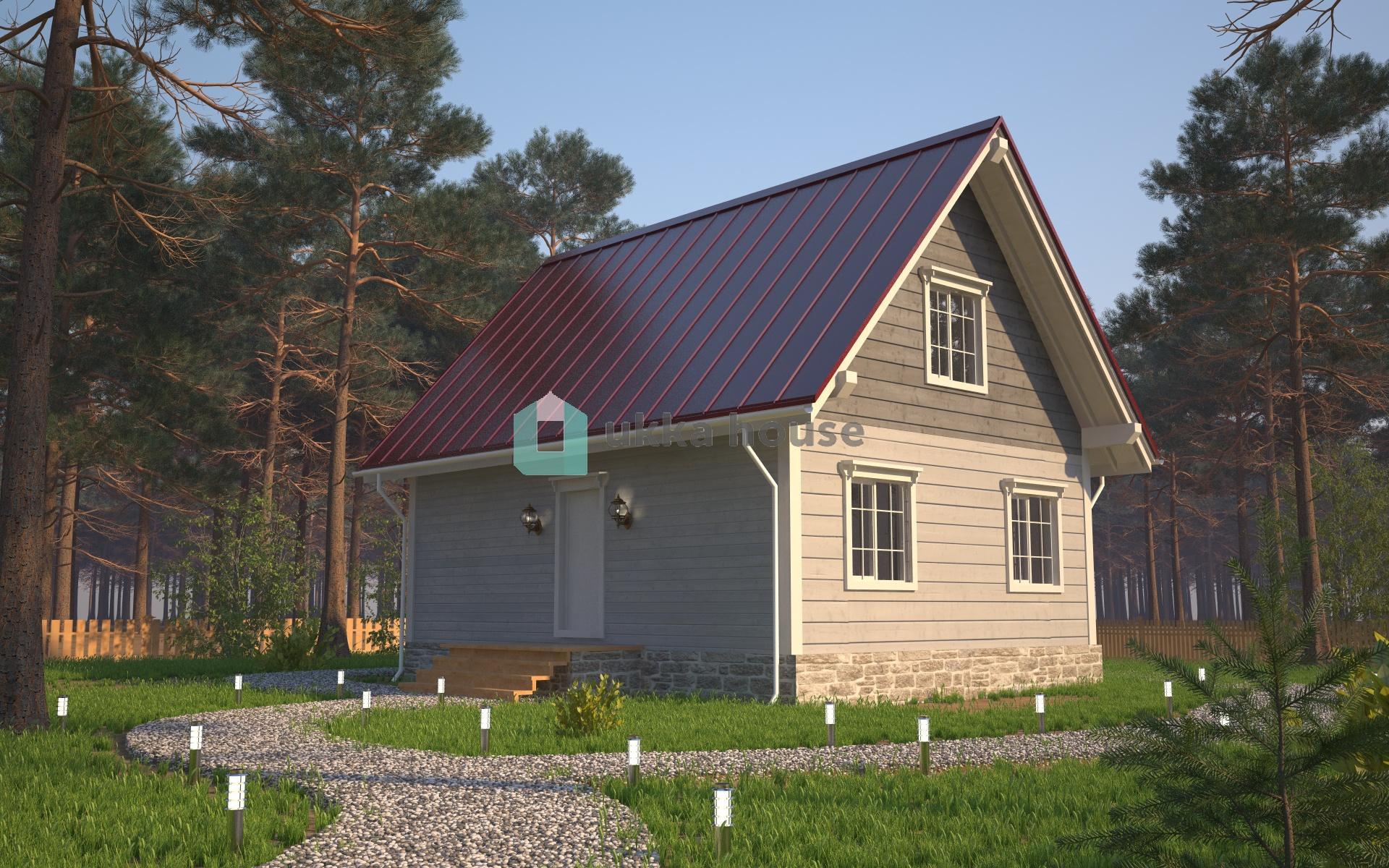 Проект «Проект дома в классическом стиле