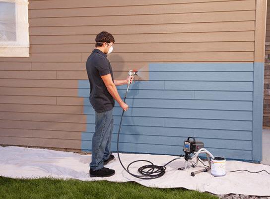 построить дом недорого под ключ - покраска в подарок