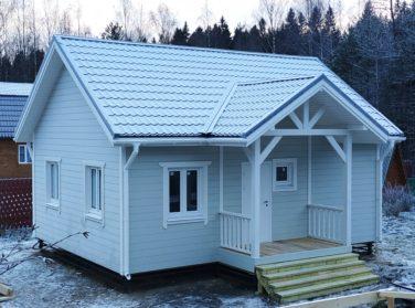 Каркасный дом в пос. Каннельярви, проект Барон
