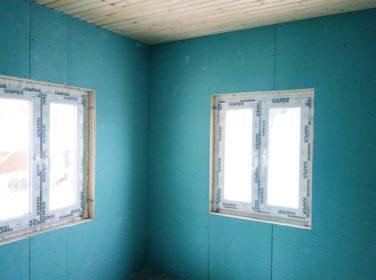 Внутренняя отделка дома в пос. Каннельярви