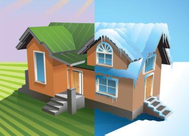 Летний или зимний загородный дом?