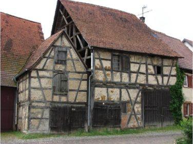 Средневековый фахверковый дом