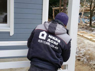 Мы строим дом по проекту Ридигер в пос. Ольшаники
