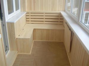 Внутренняя отделка каркасного дома - отделка вагонкой