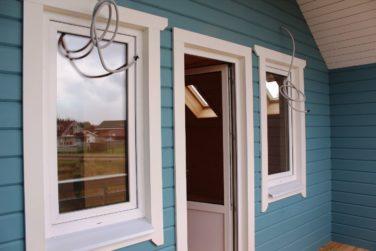 Вход в дом, проект «Ридигер», КП «Правдинское Озеро-2»