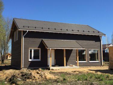 Двухэтажный каркасный дом в КП ПриЛЕСный по Мурманскому шоссе