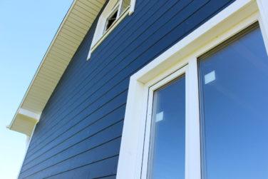 Каркасный дом Рагузин - окно