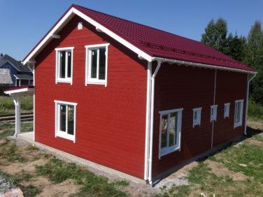 Каркасный дом в пос. Симагино по Выборгскому шоссе