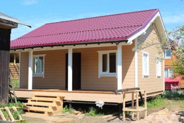Дом в поселке Синявино СНТ Ладога